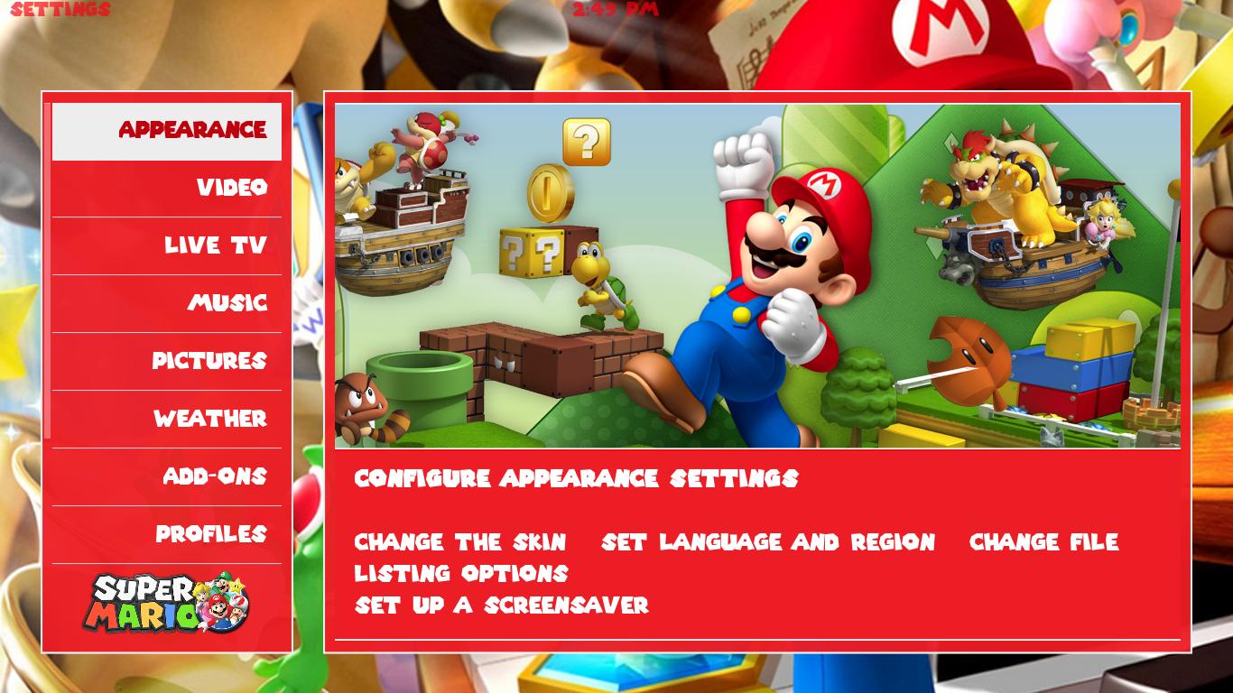Mario Skin – MrTh3m3s com